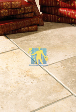 limestone tiles brushed jerusalem grey gold sample Perth cleaning