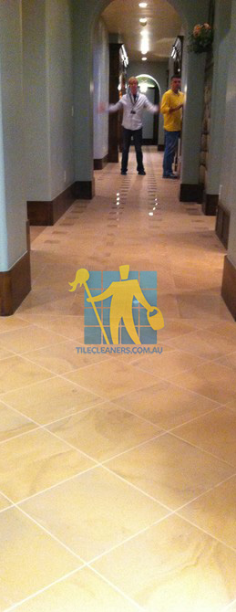 traditional entry with large porcelain tiles were laid in a basketweave pattern Ardross
